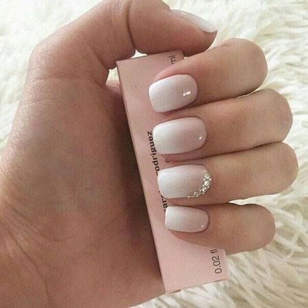 Elegant Wedding Manicure