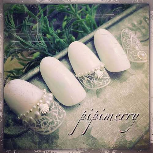 2018 Wedding Nail Designs-18