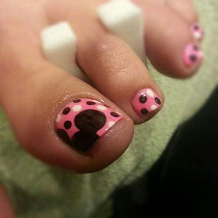 Toe Disney Dot Cute