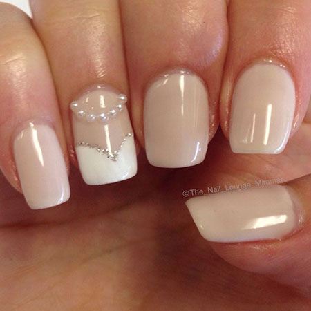 Manicure Wedding 3D Bride