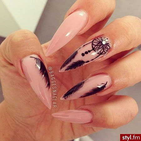 Feather Stiletto Oval Very