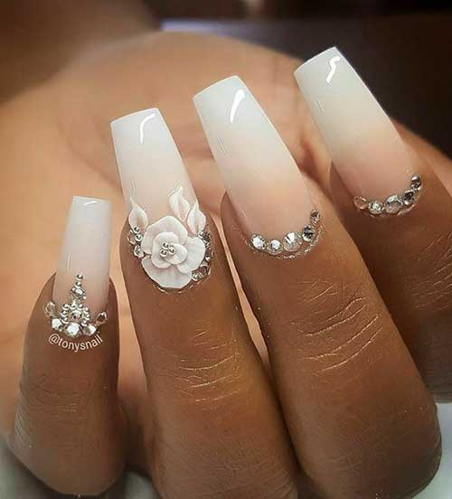 2018 Wedding Nail Designs-20