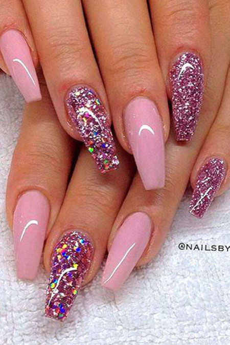 Pink Glitter Day Really