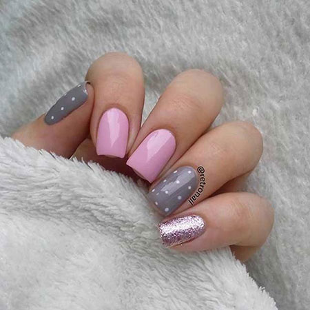 Gray Pink Easy Super