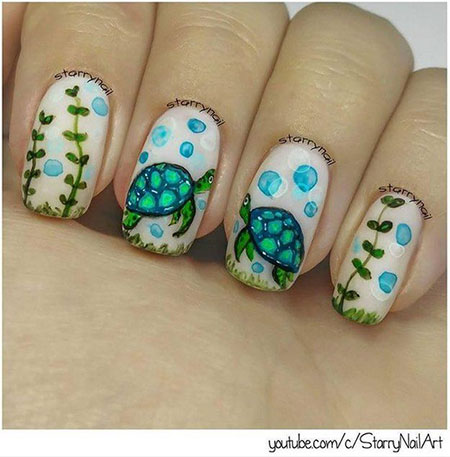 Lovely Animal Nail Design, Animal Most Love Fall