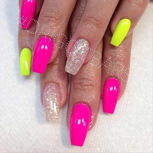 Vivid Colored Nail Arts-6