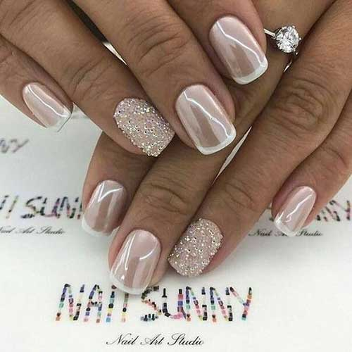2018 Wedding Nail Designs-6