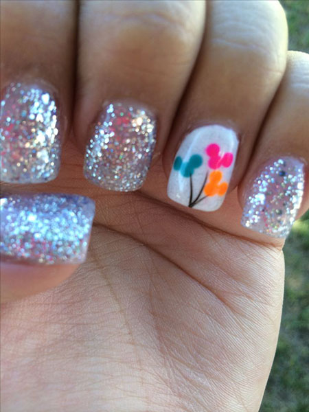 Disney Gel Glitter Ideas