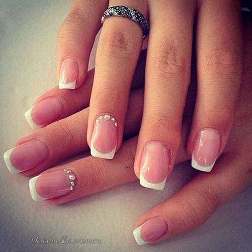 Square Shape Nail Designs-7