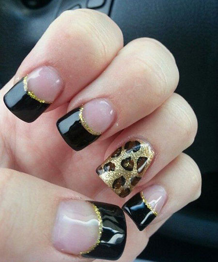Cheetah Gel Popular Manicure
