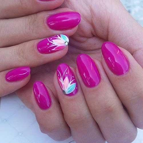 Vivid Color Nail Designs