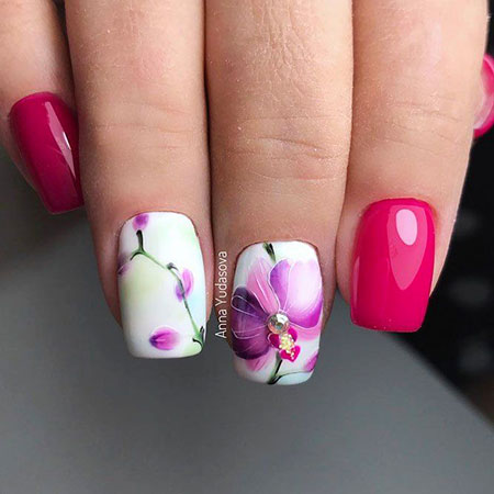 New Spring Nail Design, Manicure Nail Nails New