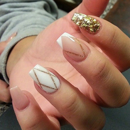 Line Nail Design, Nails Nail Manicure Coffin