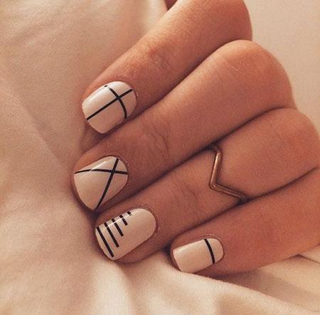 Nail Simple Nails Designs - 25 Line Nail Designs