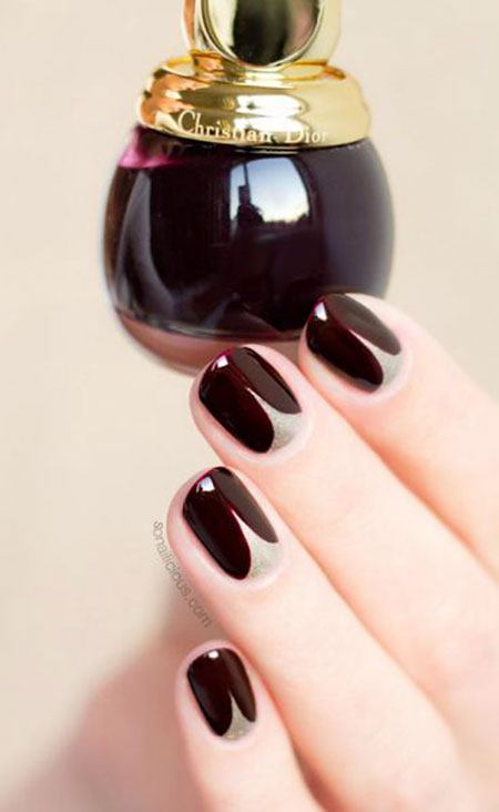 Short Chic Nails Polish
