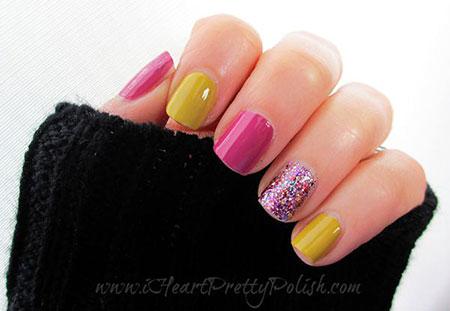 Nail Glitter Nails Week