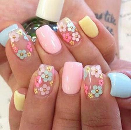 Nails Nail Pastel Spring