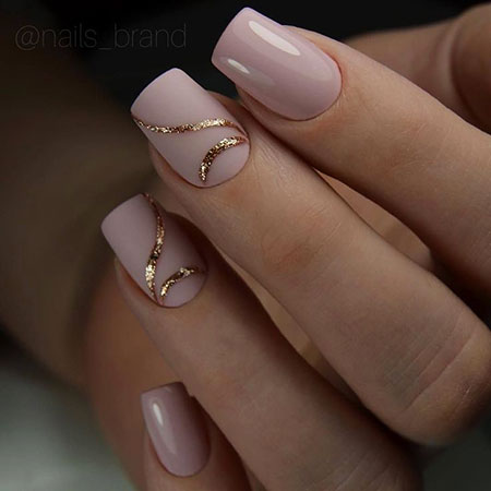 19-Winter-2018-Gel-Nail-Ideas-419 - Nail Art Designs 2017