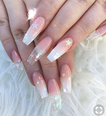Cute Acrylic Long Nails, Nail Nails Hot Ongles