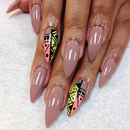 Stiletto Nails Nail Art
