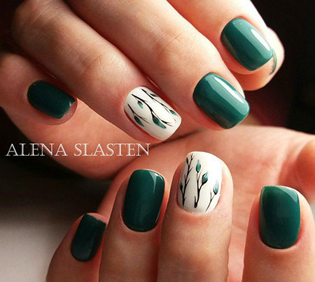 Nail Green Manicure Nails