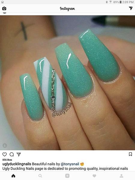 Nails Nail Coffin Ideas
