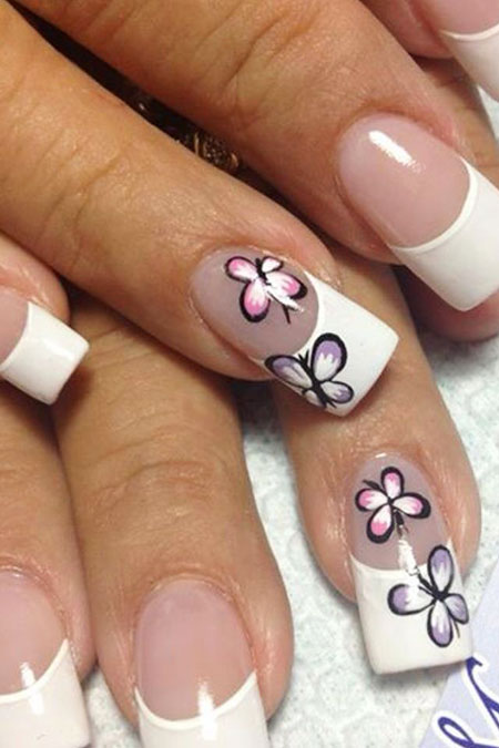 Nail Butterfly Designs Nails