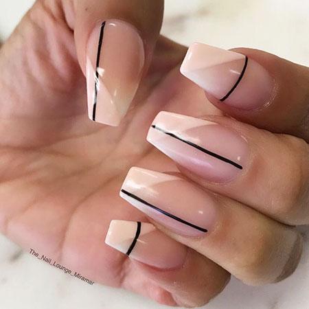 Nails Nail Lines Trendy