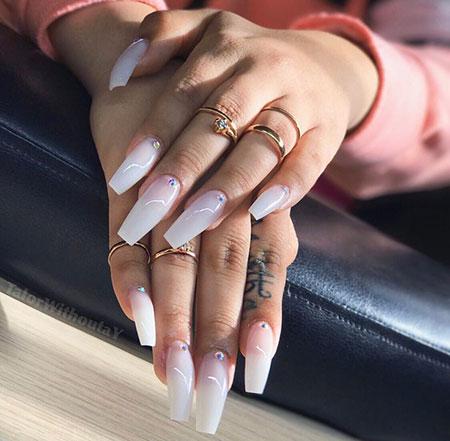 Nails Nail Coffin Girl
