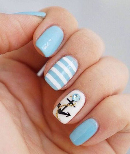 Nail Anchor Nails Summer