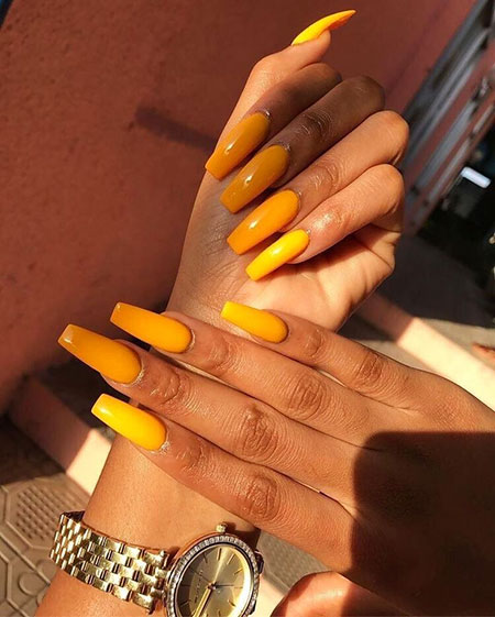 25,Summer,Coffin,Nails,Colors,385 , Nail Art Designs 2017