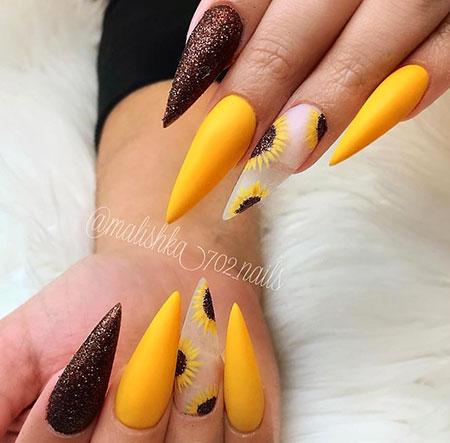 Nails Nail Stiletto Acrylic