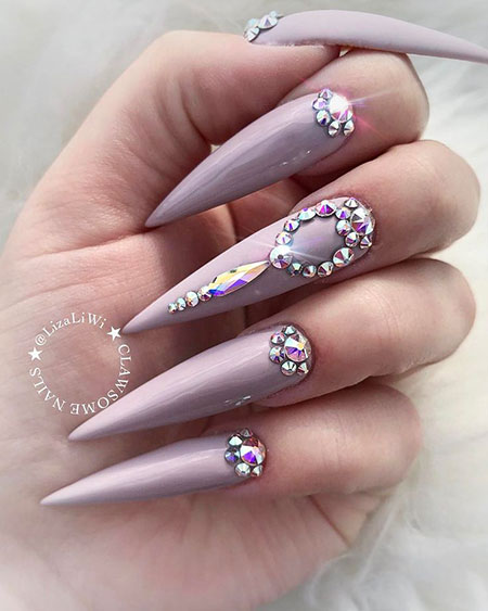 Chic Nail Art with Stiletto, Nails Nail Stiletto Designs