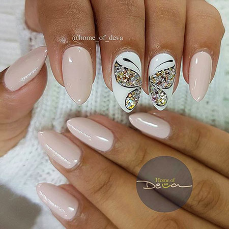 Cute Style, Designs Nail Butterfly Manicure