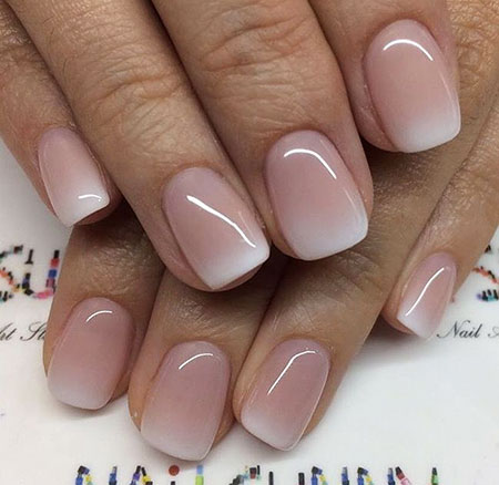 Ombre French Nails, Nail Manicure Ombre Designs