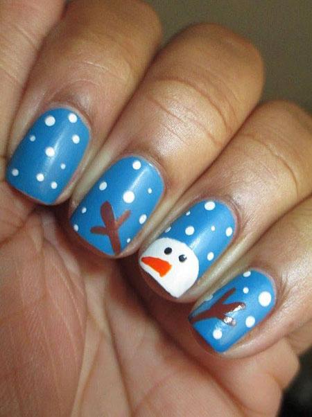 Nail Nails Christmas Designs
