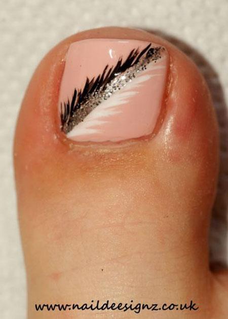 Summer Toe Makeup 3D