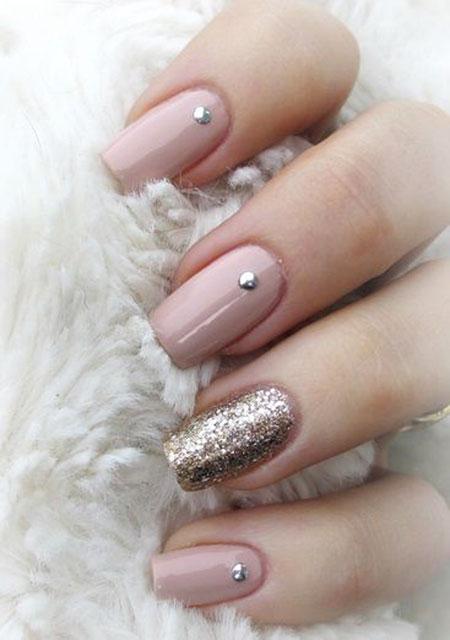 Manicure Nail Spring Glistening