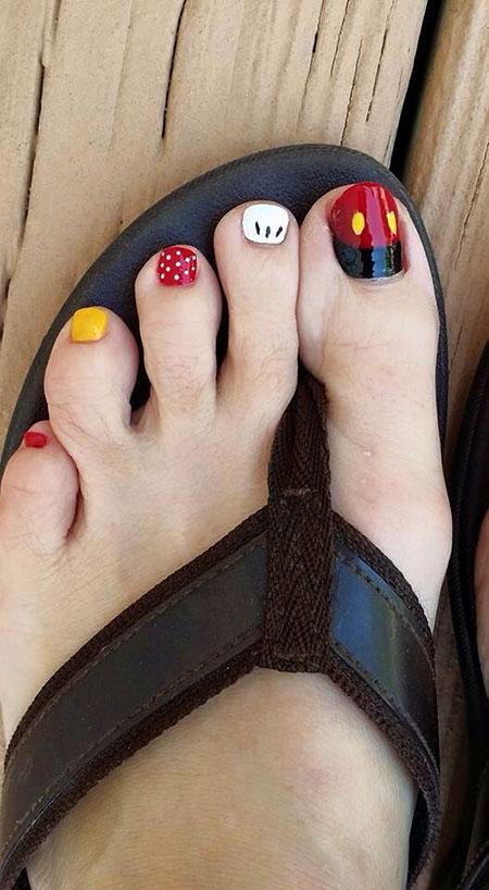 Nail Toe Easy Disney