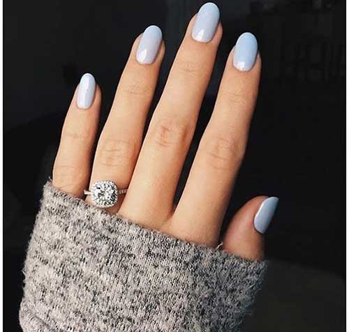 Short Oval Nail Designs-11