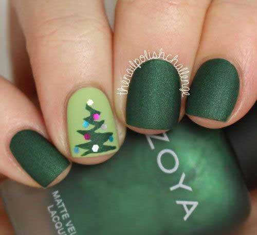 Christmas Nail Designs-13