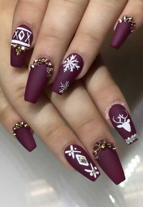 Christmas Nail Designs-20