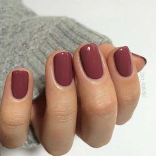 Short Oval Nail Designs-7