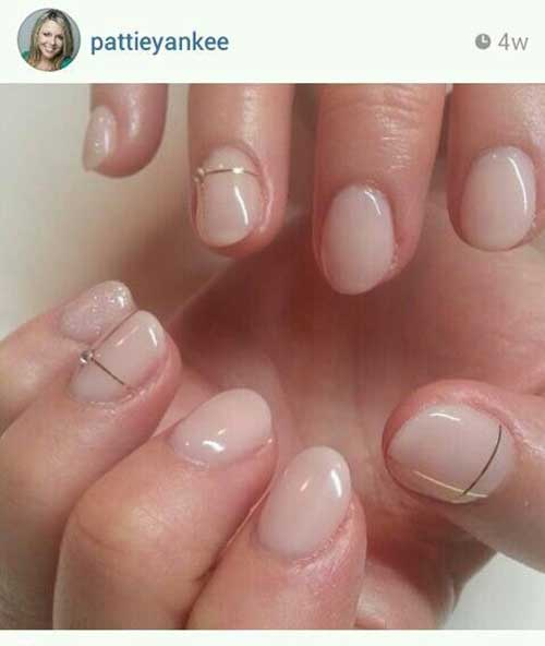 Short Oval Nail Designs-8
