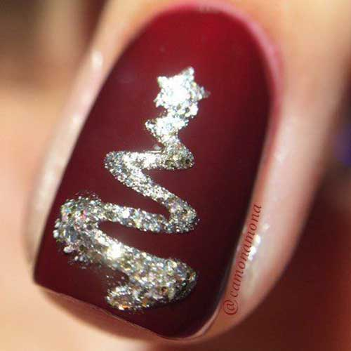Christmas Theme Nail Designs