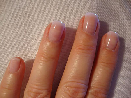 Natural Fake Nails, Nail Natural Acrylic Manicure