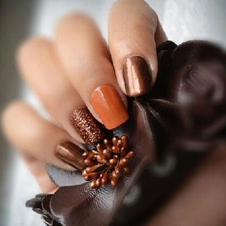 Nails Nail Fall Black