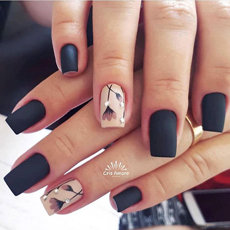 Nail Nails Manicure Black