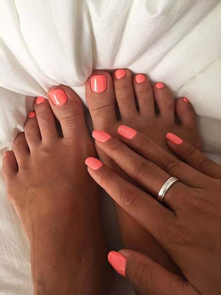 Summer Nails Nail Toe