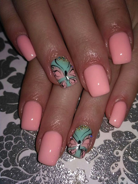 Nail Pink Ideas Designs